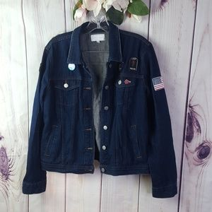 Kendall & Kylie   Patched Jeans Jacket